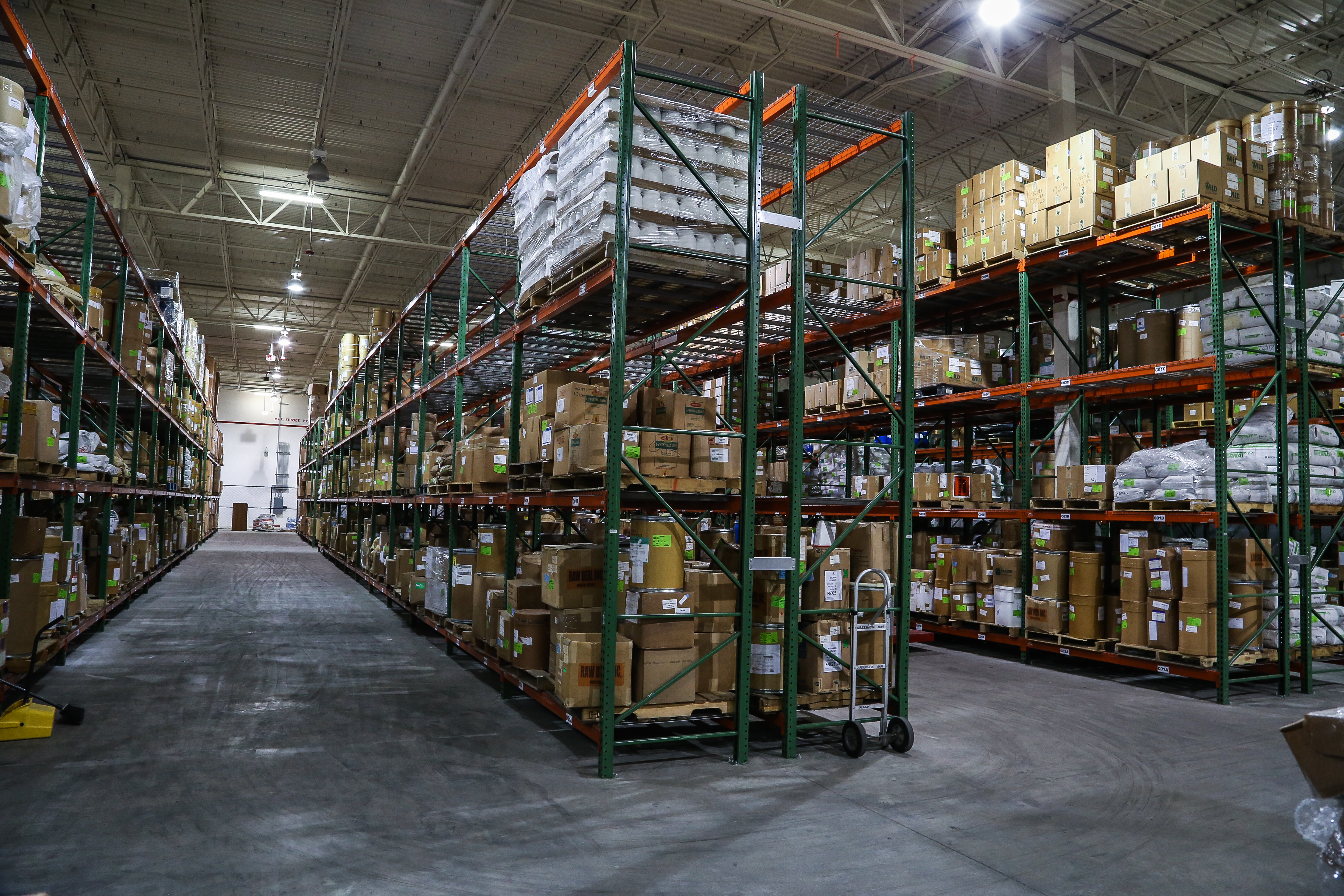 Over 50,000 sf of Warehousing Space